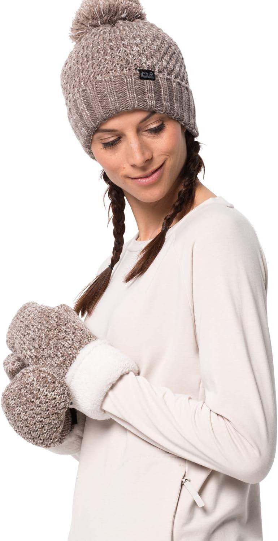 Jack Wolfskin Ladies Highloft Knit Mitten