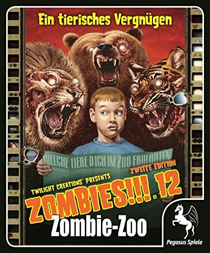 Pegasus Spiele 54212G - Zombies, 12 Zombie Zoo