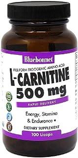 Bluebonnet L-Carnitine 500 mg, 100 Licaps