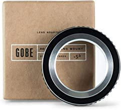 Gobe Lens Mount Adapter: Compatible with M39 Lens and Sony E Camera Body