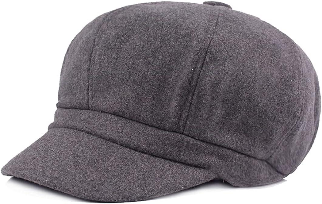 Women Gatsby Newsboy Cap Octagonal Baker Beret Driving Hats Painter Tour Cap