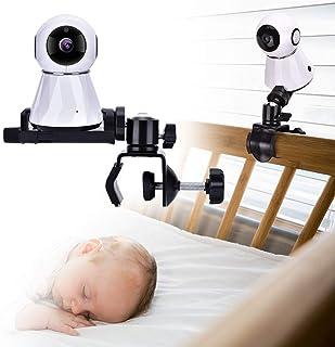 Soporte para Monitor de cámara para bebé Soporte Giratorio Ajustable de 360 Grados Mantenga a su bebé a la Vista Adecuado para la mayoría de los Equipos de monitores para bebés