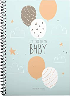 Letters to My Baby! Memory Baby Books for Son or Daughter, Newborn Grow Milestone, Babys First Year Book, New Mom Journal...