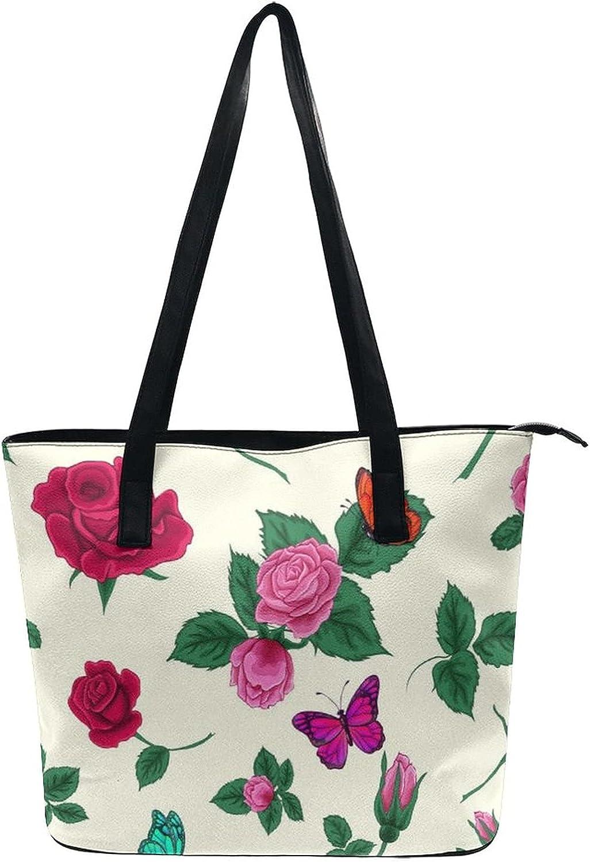 Women Lady Satchel Shoulder Bags Beach Tote Bag Classic Tourist Handbag