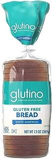 Glutino White Sandwich Bread 13 Oz, Pack of 12
