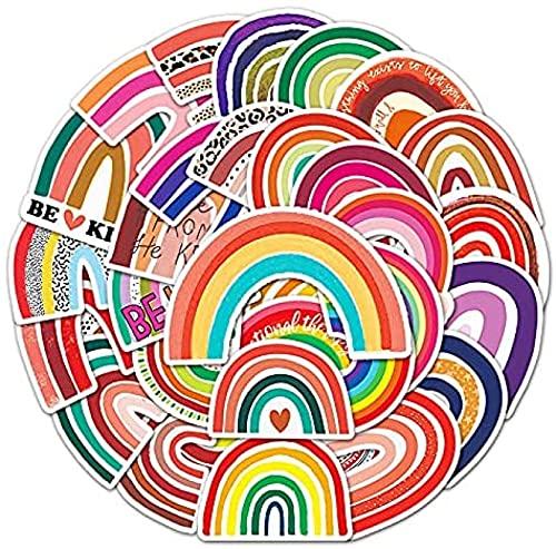 JZLMF 50 pegatinas personalizables de colores con diseño de grafiti para equipaje, frigorífico, casco, etc.