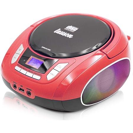 Lauson Nxt962 Tragbarer Cd Player Led Discolichter Elektronik