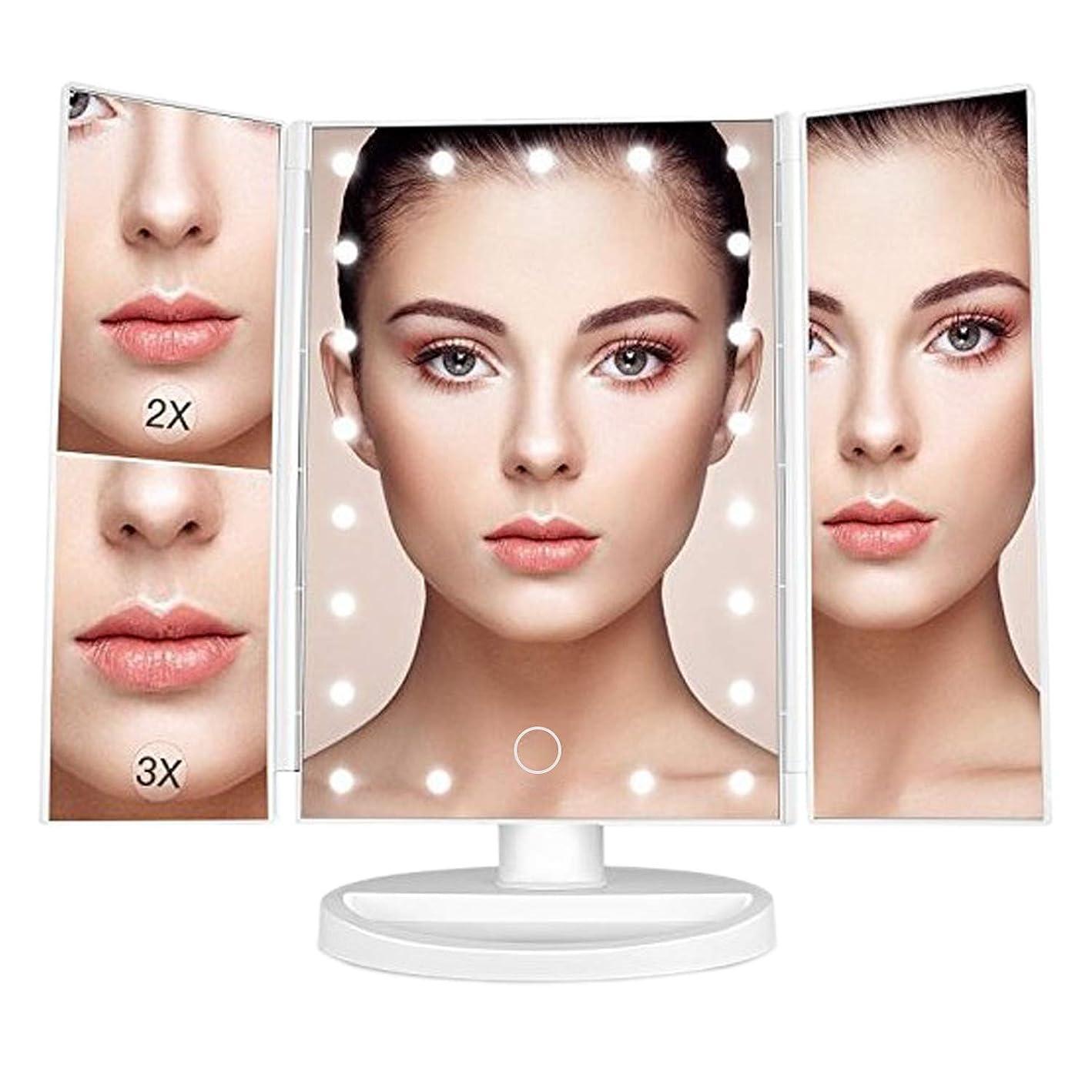 法的把握紀元前SURUN 21は、光の化粧鏡、1倍/ 2倍/ 3倍の倍率の3倍折りたたみ式鏡、タッチスクリーン調光、180度調整可能回転、2つのパワーモード、充電式カウンタートップトラベル化粧鏡を導きました。