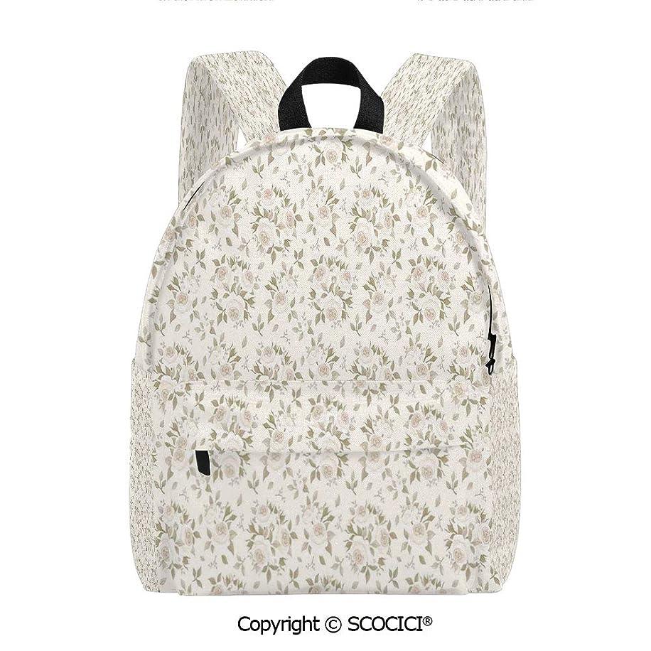 SCOCICI Classic School Bookbag with Water Bottle Pocket(11.5