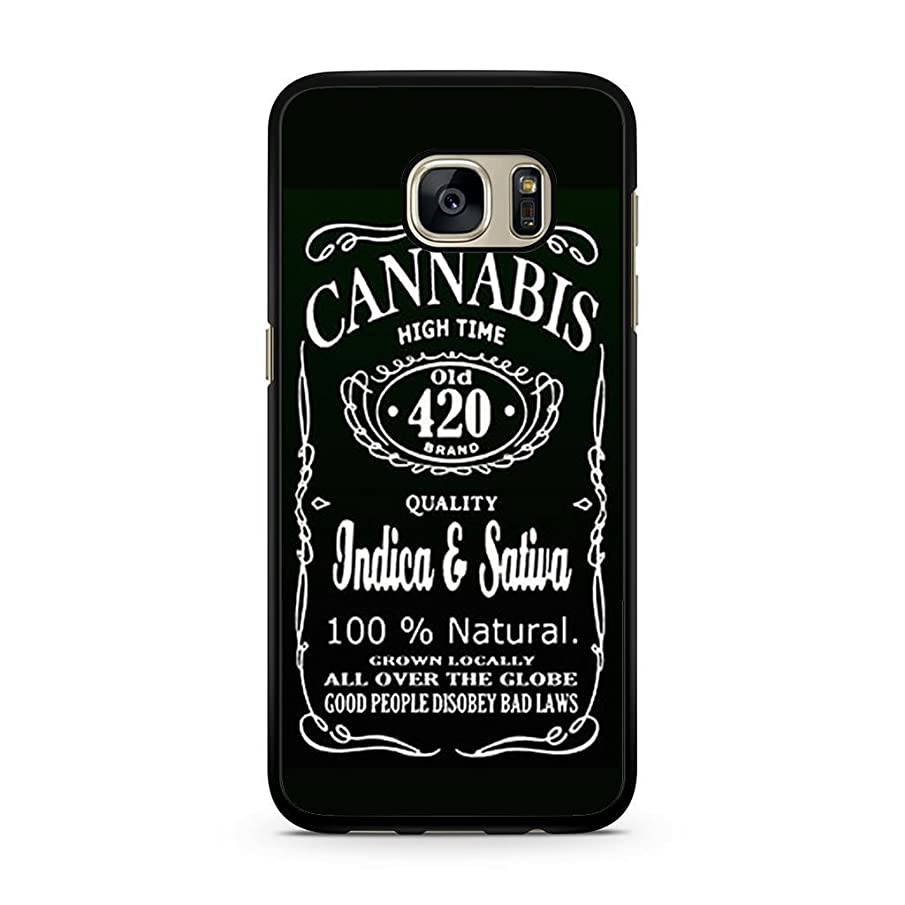 CASE LOCK LTD - Weed Marijuana Cannabis KushHard Rubber Phone Case for Samsung Galaxy S9 + Plus Made and Shipped from The USA