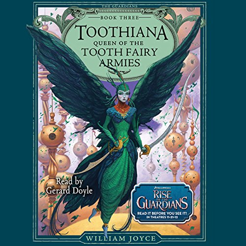 Toothiana audiobook cover art