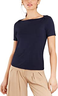 Brooks Brothers Women's Bateau-Neck Jersey Top