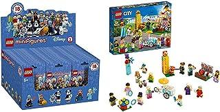 レゴ(R)ミニフィギュア ディズニー シリーズ2 71024 ブロック おもちゃ 女の子 男の子 & レゴ(LEGO) シティ ミニフィグセット - 楽しいお祭り 60234 ブロック おもちゃ 男の子 車【セット買い】