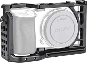 EACHSHOT A6 Camera Cage for Sony A6000 A6300 A6400 A6500 ILCE-6000 / ILCE-6300 / ILCE-6400 / ILCE-A6500 with 1/4