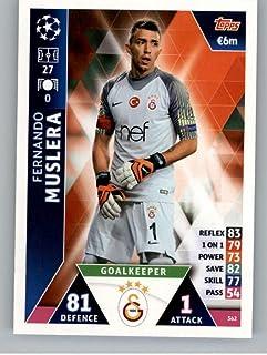 2018-19 Topps UEFA Champions League Match Attax #362 Fernando Muslera Galatasaray S.K. Official Futbol Soccer Card