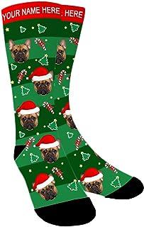 Aolun, Calcetines Personalizados Foto,Navidad Calcetines, Personalizable Calcetines,Pon tu foto en calcetines para Hombre,Mujer