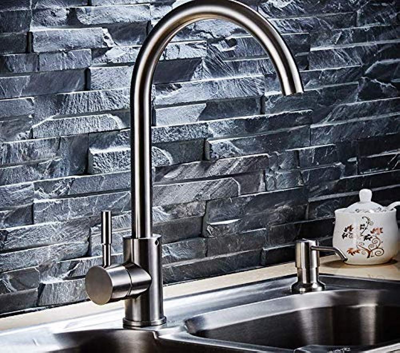 304 edelstahl gebürstet spülbecken küchenarmatur heie und kalte waschbecken waschbecken bad spritzen kopf wasserhahn