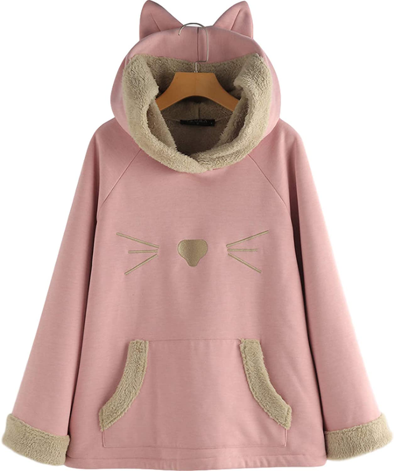 Ladies Autumn and Winter SEAL limited product Tops Baltimore Mall Printing Fashion Loose Large Cute