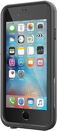 """Lifeproof FRĒ SERIES iPhone 6 Plus/6s Plus Waterproof Case (5.5"""" Version) - Retail Packaging - BLACK"""