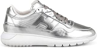 HOGAN Luxury Fashion Womens HXW3710AP20JZMB200 Silver Sneakers | Season Permanent