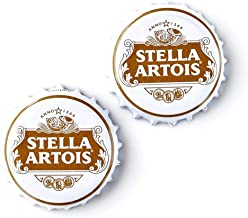Quality Handcrafts Guaranteed Stella Artois Bottle Cap Cufflinks
