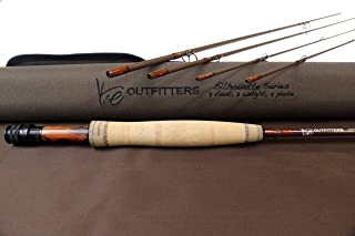 K&E Outfitters Silhouette Series Fly Fishing Rod