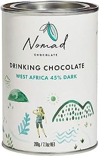 Nomad Chocolate - Hot Chocolate West Africa 45% Dark, 7.05oz