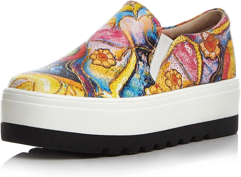 MINIVOG Platform Mid Heel Women Flat shoes