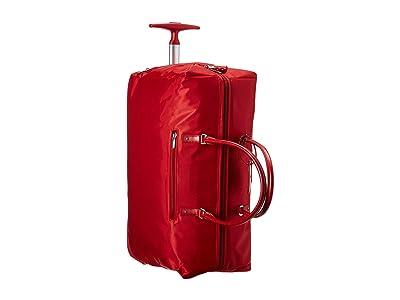 Lipault Paris Lady Plume Wheeled Weekend Bag 2.0 (Cherry Red) Bags