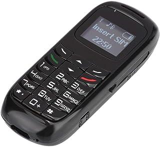 Socobeta Wielofunkcyjny pojemny telefon komórkowy o dużej pojemności przenośny Bluetooth wsparcie SIM (czarny)
