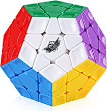 D-FantiX Cyclone Boys 3x3 Megaminx Stickerless Speed Cube Pentagonal Dodecahedron Cube Puzzle Toy