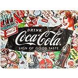 Nostalgic-Art Retro Blechschild Coca-Cola – Collage –