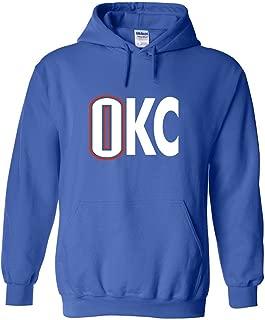 The Silo Blue Oklahoma City Westbrook OKC Hooded Sweatshirt