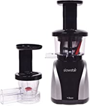 Tribest SW-2020-B Vertical Slow Juicer and Mincer, Silver