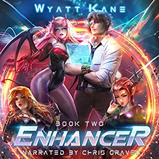 Enhancer 2 audiobook cover art