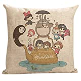 PillowStar My Neighbor Totoro Throw Pillow Cover (Totoro7) by PillowStar