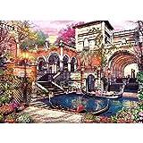 Lunriwis Puzzle de 1000 Piezas para Adultos, Venecia Ciudad del Agua Obra de Arte de Juego de Rompecabezas para Adultos,Adolescentes(70x50cm)