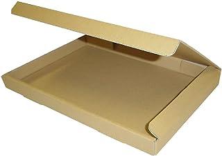 桐パック:ダンボール箱ゆうパケット・クリックポスト用(段ボール箱)A4サイズ100枚(外寸:325×240×29mm)(3ミリ厚)