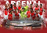Poster Stade Arsenal Stadium Fussball Wand Kunst