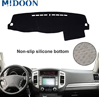 MIDOON for Mitsubishi Board Cover Pad Carpet Car Dashboard Cover Dash Mat Dash Pad DashMat (for Mitsubishi Pajero Montero 2007 2008-2015 2016 2017)