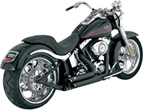 Vance & Hines Shortshots Staggered Exhaust Black 47221