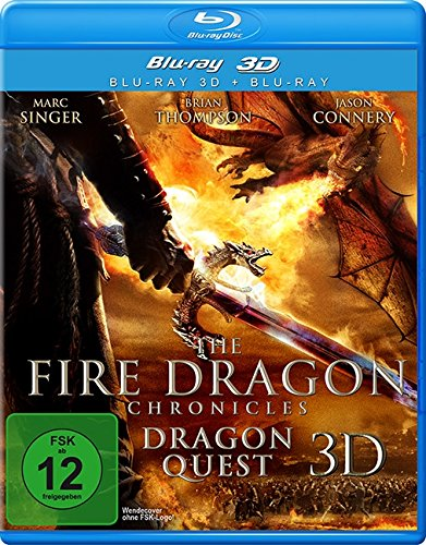The Fire Dragon Chronicles - Dragon Quest (3D Version inkl. 2D Version & 3D Lenticular Card)[3D Blu-ray]