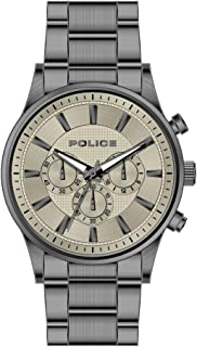 Bevilles Police Kastrup Mens Watch Model PL15589JSU/13M Stainless Steel 3 Hands 4895220901383 Gun Metal Grey
