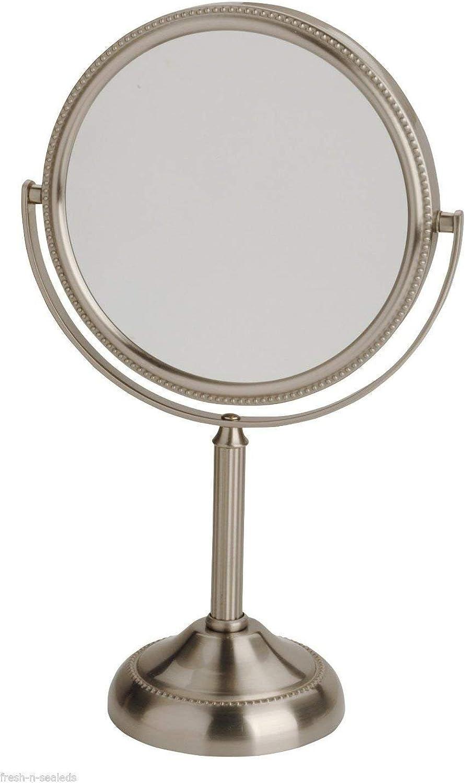 Mirror of Vanity,Makeup Hair Face Double 2 1 & 10X Convenient Bathroom