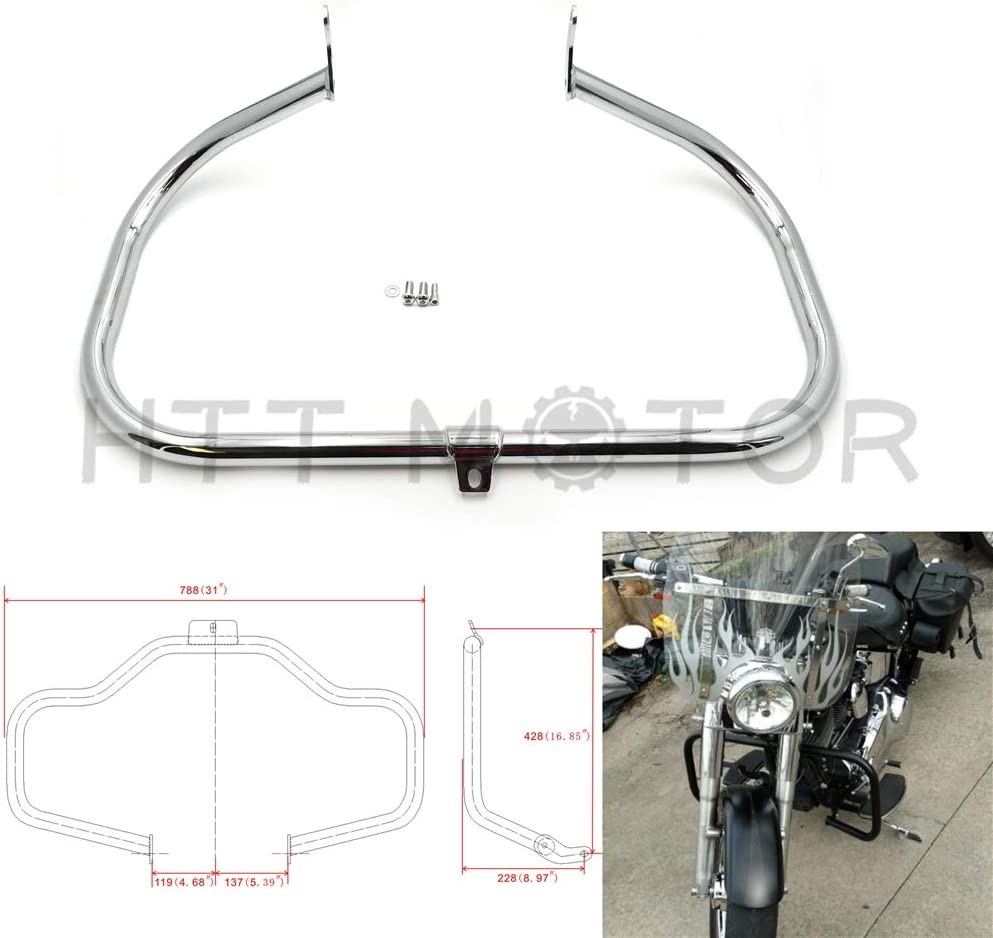 HTTMT EG05-III- Special price Chrome Engine Guard 20 Compatible with Bar Crash excellence
