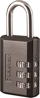Master Lock 647D Padlock, 1, Black