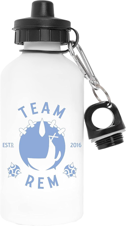 Team Rem 2016 Libre de Contaminantes Blanco Botella De Agua Aluminio Para Exteriores Pollutant Free White Water Bottle Aluminium For Outdoors