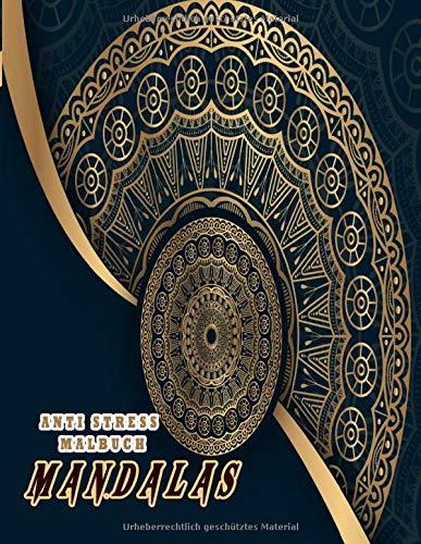 Mandalas Anti Stress Malbuch: Das große Malbuch für Erwachsene mit Anti-Stress-Wirkung mit tierischen Motiven für Erwachsene, Senioren, Anfänger, Kinder. Malbuch für Erwachsene Entspannung