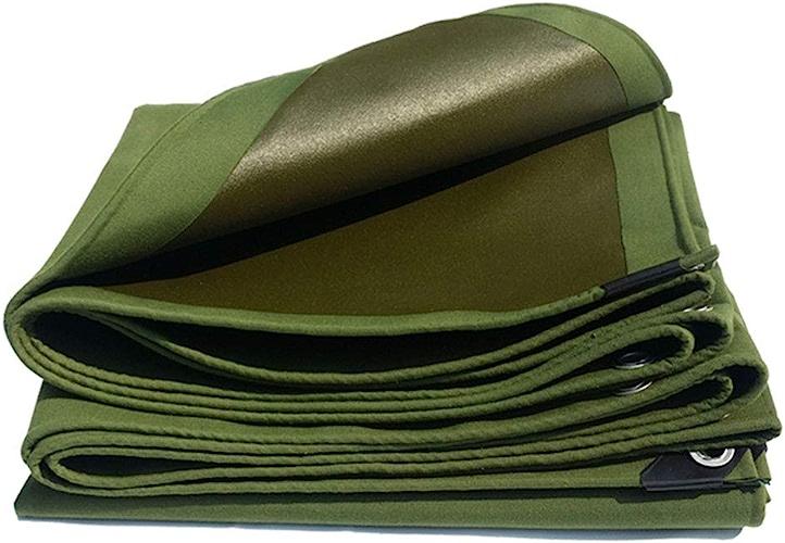 HU Bache Polyvalente Durable de bache Verte de PVC antipluie et Prougeection Solaire pour Le Bateau de Voiture de Jardin épaisseur 600g   m2 0.73mm (Taille   3x6m)