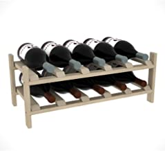 Creekside 10 Bottle Magnum Modular Exclusive Wine Shelf, 12